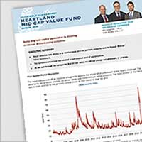 Heartland Mid Cap Value Fund Portfolio Manager Commentary