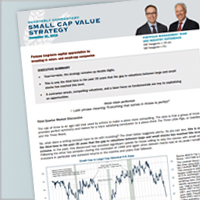 Heartland Advisors Small Cap Value Strategy Portfolio Manager Commentary